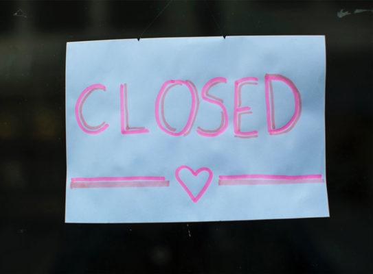Husläkarjouren stängd